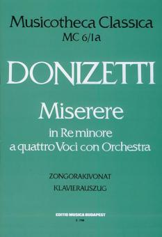 Miserere in re minore Mc 6/1
