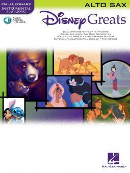 Disney Greats for Alto Sax