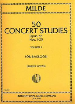 50 Concert Studies Op. 26 Vol. 1