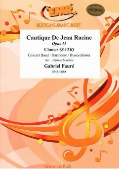 Cantique de Jean Racine op. 11Standard