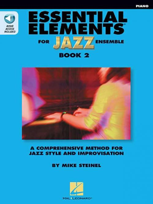 Essential Elements for Jazz Ensemble Book 2 - Piano