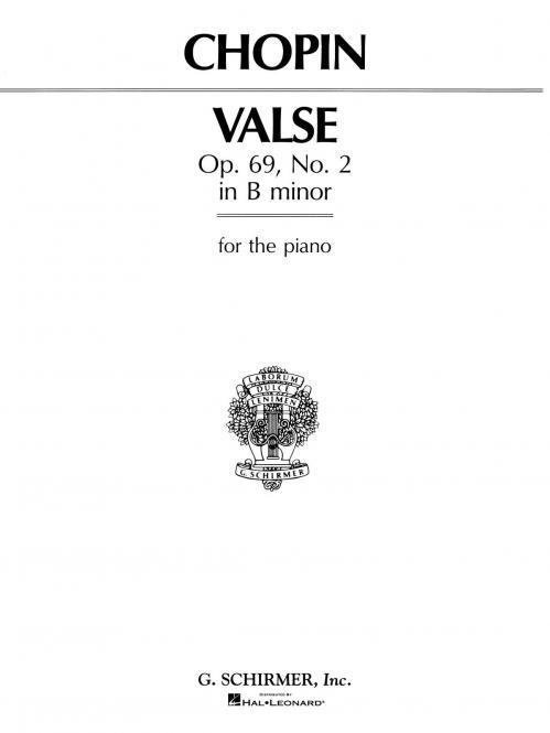 Valse Op.69 No.2 B Minor Piano