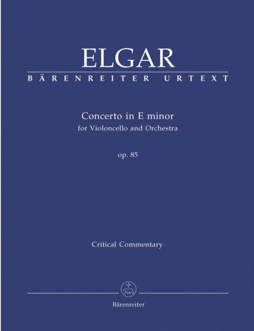 Konzert in e-Moll op. 85