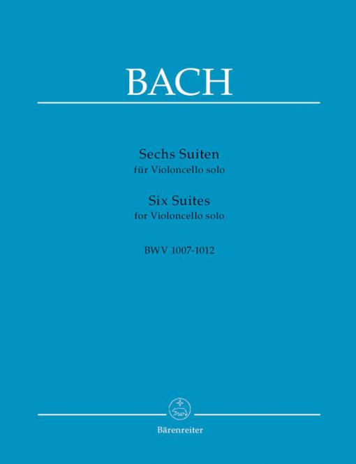 6 Suits BWV 1007-1012