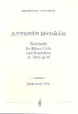 Serenade für Bläser, Cello und Kontrabass in d-Moll op.44