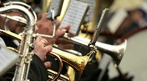 Partiture per orchestra di strumenti a fiato