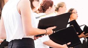 Partiture per coro femminile