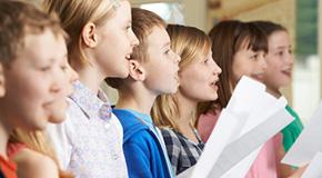 Partiture per coro di bambini