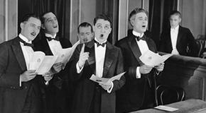 Partiture per coro maschile